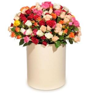 """Цветы в коробке """"Восторг"""""""