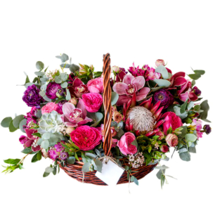 """Цветы в корзинке """"Карнавал"""""""